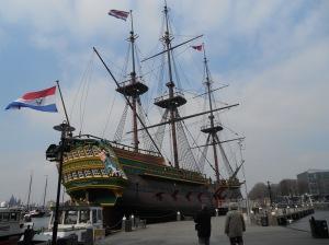"East Indiaman ""Amsterdam"""