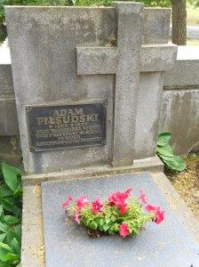 Adam Pilsudski's gravestone