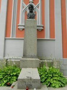 Joachim Lelewel's gravestone